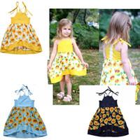 817eb9fbf05de Wholesale Baby Girl Sunflower Dress for Resale - Group Buy Cheap ...