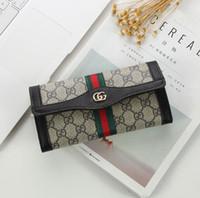Wholesale clutch square resale online - Fashion Men Women wallets PU leather wallet single zipper Cross pattern clutch girl purse