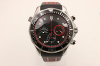 Wholesale battery sellers resale online - Hot seller Professional Master Mens Watch Si14 Quartz Movement Chronograph Rubber Strap Men Watches