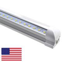 Wholesale led shop lights for sale - Group buy LED shop lights ft ft LED Tube Light V Shape Integrated Tubes ft Cooler Door Freezer LED Lighting