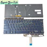teclado de corea al por mayor-Repair You Life teclado para laptop para ASUS ZenBook 3 Deluxe UX490 UX490CA UX490UA Corea estándar KR con teclado retroiluminado
