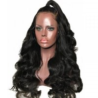 Wholesale lace front wigs loose waves for sale - Group buy Front Lace Wig Brazilian Human Hair Wigs Ombre Color Loose Wave Human Hair Pre Plucked Hairline