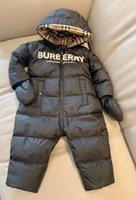 ingrosso i jeans liberano il trasporto-spedizione gratuita 2019 baby girl ragazzi pagliaccetto pagliaccetti invernali per bambini per ragazzo giù addensare tute calde tutina tutina bambino