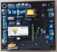 regulador de voltaje para alternador al por mayor-SX440 Generador Automático Regulador de voltaje partes del alternador Trifásico Voltaje Diesel Controlador Estable Estabilizador de Fase