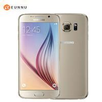 android 4g teléfono inteligente de cuatro núcleos al por mayor-Original desbloqueado Samsung Galaxy S6 Android MobilePhone G920F G920V G920A G920P 3GB 32GB 5.1