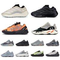 Wholesale kanye west shoes sale resale online - Hot sale Carbon blue wave runner Magnet Reflective Alvah Azael Inertia static solid Kanye West mens women running shoes sneakers