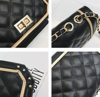 bandolera de dos manos al por mayor-2019 Casual fashion women Hand bag lady bag Small Mini Mobile phone bag Cross Body Shoulder Bags Bolsos de PU de alta calidad Dos tonos RH6055