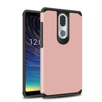 Wholesale silver legacy resale online - Slime Armor Case For MOTO G7 power Coolpad Legacy Metropcs TPU PC Dual Layer Cell Phone Case Cover OPP bags