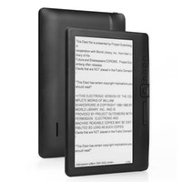 Wholesale hd books resale online - 8GB Ebook reader smart with inch HD screen digital E book Video MP3 music player Color screen
