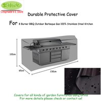 Wholesale patios covers resale online - Durable Protective Cover of Outdoor Kitchen x65x120cm Durable Oxford fabric Black color Water proofed Patio BBQ grill cover