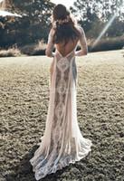 Vestito Cerimonia Hippy.Sconto Abiti Da Sposa In Spiaggia Hippie 2020 Abiti Da Sposa In