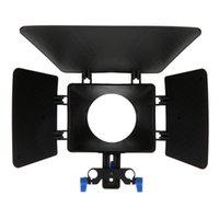 système de support des tiges de 15 mm achat en gros de-Boîtier mat en plastique DSLR M1 pour support de tige de rail de 15 mm Suivez le système de mise au point Appareils photo Canon D90 5D 60D 7D 550D 600D Nikon