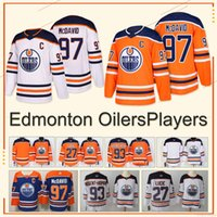 Wholesale NEW jersey Ryan Nugent Hopkins Connor McDavid Milan Lucic High quality Hot sale new Hockey sportswear