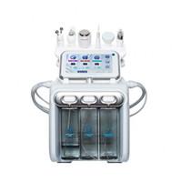 máquina de burbujas envío gratis al por mayor-Multifuncional Manejo de la Piel Oxígeno Burbuja Hidra Máquina Facial Dermabrasion Bio-lifting Beauty SPA Máquina Facial Envío gratis