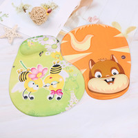 Wholesale wrist rest support for sale - Group buy 1pc Practical Skid Resistance Memory Foam Comfort Wrist Rest Support Mouse Pad Mice Pad Mousepad Cute Animal Style