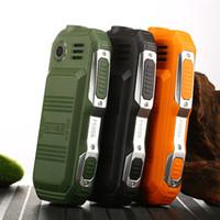 rusça cep telefonları toptan satış-Sağlam Mini Cep Cep Telefonları Çift SIM Destek Rus Klavye Büyük Düğme Büyük Ses Ucuz Telefon Hesap Feneri L99 F88