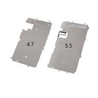protector de pantalla para iphone 4.7 5.5 al por mayor-20 UNIDS nuevo soporte Pantalla LCD Placa de metal Pantalla interior Protector de cubierta Soporte Pieza de reparación para iPhone 7 7 Plus 4.7