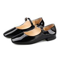 ingrosso scarpe korean n-Dress Shoes Single Female 2019 versione coreana del nuovo selvaggio primavera Round Buckle testa.