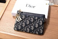 Wholesale cotton candy resale online - ZWMY CD802 coin purse card case REAL LEATHER Compact Long Wallets Chain Wallet Pouches Key Card Holders Phone Cases PURSE CLUTCHES EVENING