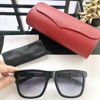 neue punk-styles großhandel-Mode neue Marke Designer Sonnenbrille 0131 Retro rahmenlose Sonnenbrille Vintage Punk-Stil Brillen Top-Qualität UV400 Schutz mit Box