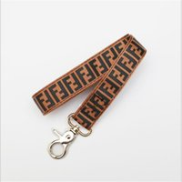 Wholesale durable leashes resale online - Classic Letter Brown Collars Leashes High Street Durable Brand Pets Collars Holiday Beach Waterproof Pet Leashes