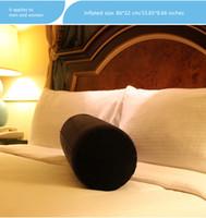aufblasbare möbel erwachsene großhandel-Aufblasbare Zylindrische Kissen für Verliebte Positionen Erwachsene Schlafsofa Bequeme Kissen Wedge Pad Sofa Spielzeug Möbel Einflusskissen