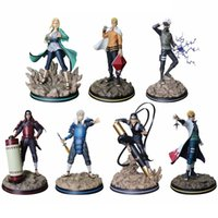 adult action figures بالجملة-NARUTO Tunade Naruto Uzumaki Hatake Kakashi Namikaze Minato Action Figure japanese Anime adult Action Figures toy Anime figure