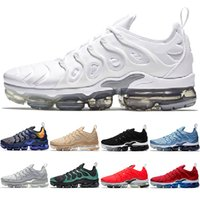 new product ced00 dbdaa Nike Air Vapormax TN Plus Max Airmax the details page for more logo Hommes  Femmes Chaussures de course Designer Trainer BE TRUE Triple Noir Blanc Rouge  ...