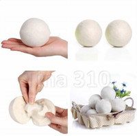 Wholesale product organic resale online - Wool Dryer Balls Reduce Wrinkles Reusable Natural Fabric Softener Anti Static Large Felted Organic Clothes Dryer Ball Laundry Product