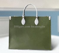 Wholesale big brown canvas shoulder bag resale online - Woman Shoulder Bag brand designer fashion handbag big tote