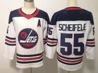 eishockey-trikot-marken groihandel-Herren Winnipeg Jets Fanatics Branded White Breakaway Heritage Jersey 55 SCHEIFELE 26 WHEELER 33 BYFUGLIEN 29 LAINE Eishockey-Trikots