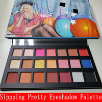 Wholesale kylie eyeshadow birthday edition for sale - Group buy 2018 New Makeup Sipping Pretty Pressed Powder kylie Eyeshadow Palette Colors st Birthday Edition Matte Shimmer Eye Shadow