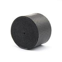 ingrosso nastro aderente-Hot Black antiscivolo traspirante sport over grip cinturino griffband Tennis overgrip tape Badminton racchetta parasudore # 72189