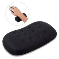 ingrosso mano di riposo per il mouse-GIM Mouse Poggiapolsi Ergonomico Gel Pad da polso Memory Foam Keyboard Rest Pad Antiscivolo Morbido Silicone Gel Mouse mano