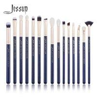 Wholesale makeup jessup brush set resale online - Jessup Prussian Blue Golden Sands Makeup brushes set Beauty kits Eye Make up brush EYESHADOW LIP BRUSH BLENDER