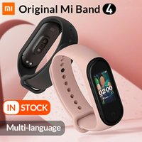 oled watch display großhandel-2019 mi band 4 0,95 zoll smart armband xiaomi band 4 fitness tracker uhr herzfrequenz schlaf monitor oled display band4 bluetooth