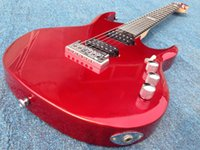 Wholesale ernie ball musicman guitars for sale - Good sound Ernie Ball Musicman JP12 electric guitar silver red color guitarra guitars