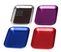moteurs électriques rc achat en gros de-Outils durables de plat de plateau de vis magnétique coloré d'alliage d'aluminium de LNL