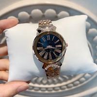 ingrosso braccialetto in edizione limitata-2019 Fashion Top fashion Rose gold women watch design speciale modello Lady sexy orologio da polso in edizione limitata orologi bracciale in argento dropshipping