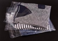 kunststoffbekleidung verpackung großhandel-28x42cm, durchsichtige selbstklebende Kleidung Plastikverpackungstasche, dicke PE-Tasche für Bekleidungshemden Jean, 100er Pack