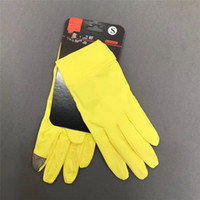 Wholesale woman cycling cloth resale online - Men Women Touch Screen Gloves Brand Finger Glove Luxury Designer All Seasons Ultrathin Stretch Cloth Handwear Unisex Cycling Glove Ne C81502