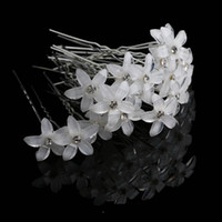 Wholesale spiral hairpin clip for sale - Group buy 20pcs Crystal Rhinestone Flower Hair Pin Clips Women Wedding Bridal Hair Spiral Hairpins Fashion Jewelry