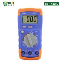 Wholesale ac voltage tester for sale - Group buy A830L LCD Digital Multimeter DC AC Voltage Diode Freguency Multitester Volt Tester Test Current
