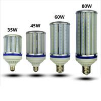 mühendislik aydınlatma toptan satış-Yüksek lümen LED Ampul E26 E27 E39 E40 Sokak aydınlatma ışık Depo Mühendisi Meydanı için AC85-265V LED Mısır Lambası