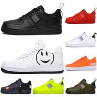 calcetines rojos de corte bajo al por mayor-Nike Air force 1 af1 Con calcetines Luxury Utility Black White Red Dunk Hombres Mujeres Zapatos casuales Deportes Skateboarding High Low Cut Wheat Trainers Designer Sneakers