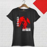 ingrosso tende per il ventilatore-ZATOICHI The Blind Swordsman Shintaro Katsu Samurai Nero T-shirt fan pantaloni t shirt paura cosplay liverpoott tshirt