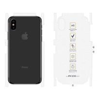 iphone geri koruyucusu mat toptan satış-Mat Tam Kapak Kavisli Geri Film iphone XR X XS MAX 6 6 S Ekran Koruyucu Hiçbir Parmak Izi Hidrojel Filmi Değil GlassFor iPhone 7 8 Artı