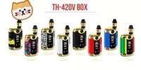 Wholesale glasses box products resale online - kangvape new best selling line OLED display evaporator original product TH V boxed starter kit with K3 and K5 cartridges to choos