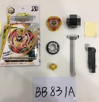 Wholesale rapidity toys beyblade for sale - Group buy 4D BeyBlade Burst B B spinning top SCREW TRIDENT B Wd Rapidity Fight Play Toy Power Combat With Launcher and box