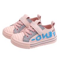 bebekler için düşmüş ayakkabılar toptan satış-FF Tasarımcı kızlar Ayakkabı Güz Kurulu Ayakkabı Basketbol Sneakers Bebek Kız Erkek Açık Spor Yumuşak Alt Ayakkabı Çocuklar Yeni B80101